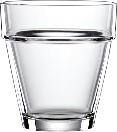 Spiegelau Bistro Crystal Whiskey Glass, Large, 320 ml - set of 4