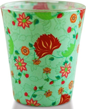 Kolorobia Elegant Mughal Shot Glass, 30 ml - set of 2