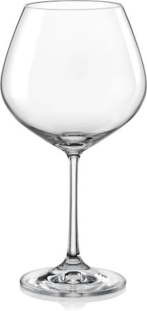 Bohemia Crystal Viola Wine Glass, 570 ml - set of 6