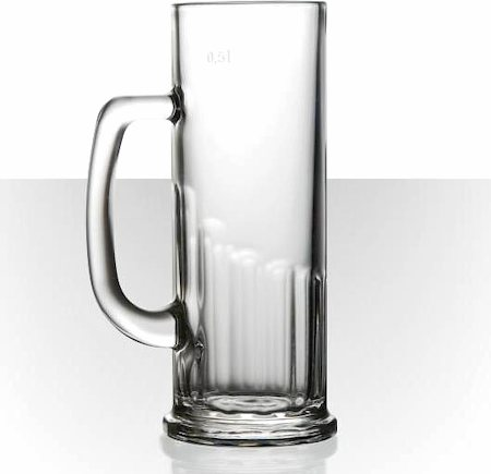 Velik Europa Beer Mug, 392 ml - set of 3