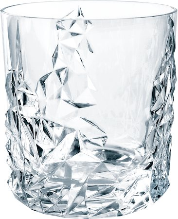 Nachtmann Sculpture Lead Crystal Whisky Tumbler (DOF), 365 ml - set of 6