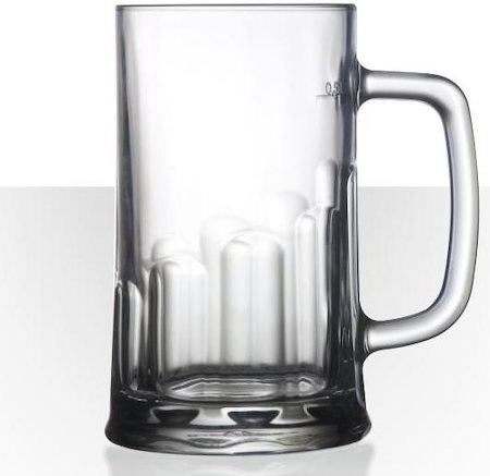 Velik Tudor Beer Mug - Large, 675 ml - set of 2