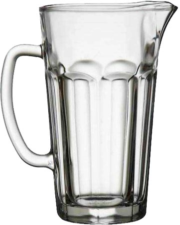 Velik Max Glass Jug, 1.2 l