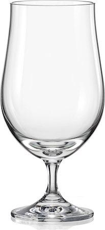 Bohemia Crystal Club Beer Glass, 380 ml - set of 6