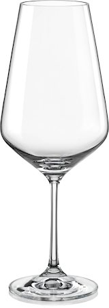 Bohemia Crystal Sandra Wine Glass, 550 ml - set of 6