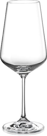 Bohemia Crystal Sandra Wine Glass, 450 ml - set of 6
