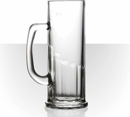 Velik Europa Beer Mug - Large, 622 ml - set of 6