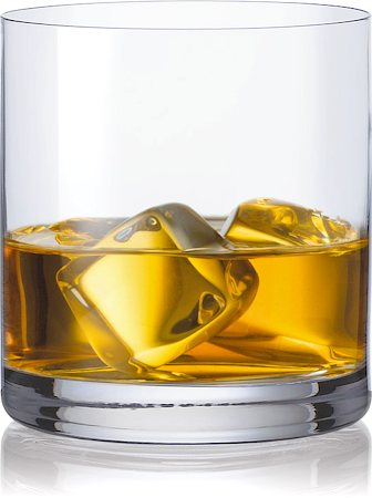 Bohemia Crystal Barline Whiskey Glass, 410 ml - set of 6