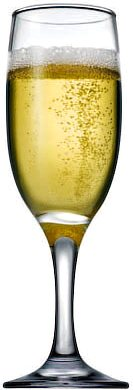 Pasabahce Bistro Champagne Flute, 190 ml - set of 6