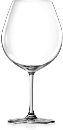 Lucaris Bangkok Bliss Burgundy Glass, 750 ml - set of 6