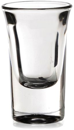 Lyra Shot Glass, 30 ml - set of 6