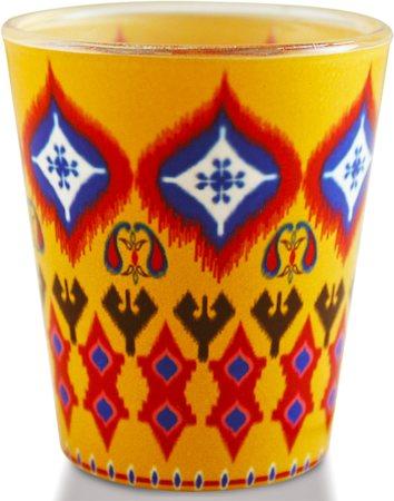 Kolorobia Superb Ikat Shot Glass, 30 ml - set of 2