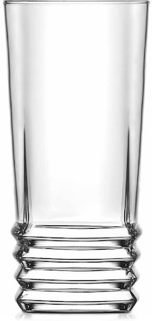 Lyra Elegan Long Drink Glass, 335 ml - set of 6