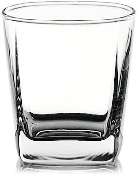 Ocean Plaza Rock Glass, 190 ml - set of 6