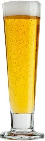 Ocean Viva Footed Pilsner Beer Glass, 420 ml - set of 6