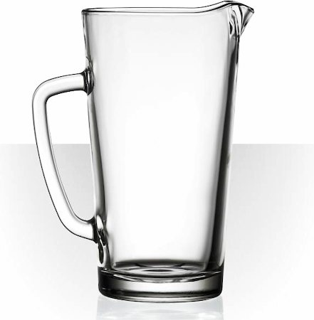 Velik Friends Glass Jug, 1.2 l