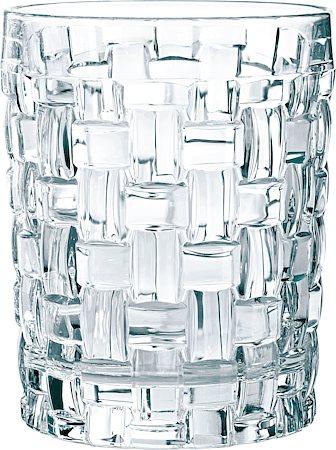Nachtmann Dancing Stars Bossa Nova Weave Pattern Whisky Tumbler, 330 ml - set of 4