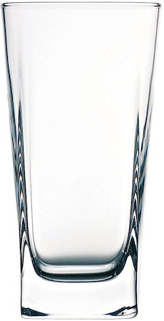 Pasabahce Carre Long Glass, 290 ml - set of 6