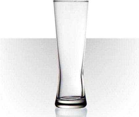 Velik Polite Beer Glass - Large, 410 ml - set of 6