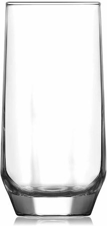 Lyra Diamond Long Drink Glass, 385 ml - set of 6