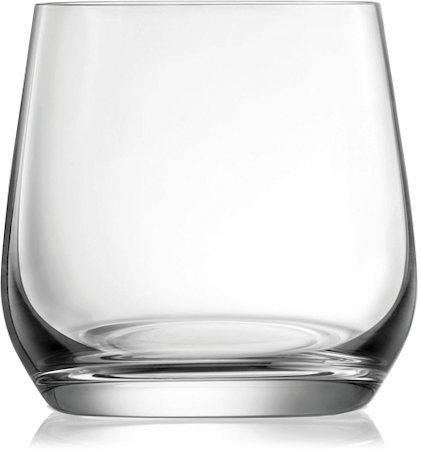Lucaris Hong Kong Hip Double Rock Glass, 370 ml - set of 6