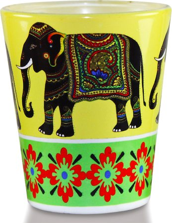 Kolorobia Majestic Elephant Shot glass, 30 ml - set of 2