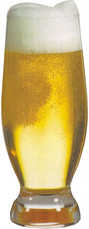 Pasabahce Aquatic Beer Glass, 375 ml - set of 6
