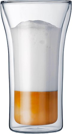 Bodum Assam Double Wall Glass, Large 400 ml - set of 2