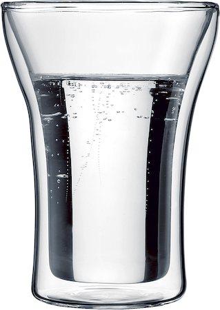 Bodum Assam Double Wall Glass, Medium 250 ml - set of 2